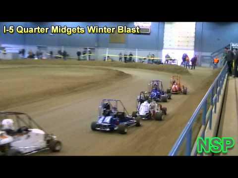2013 I-5 Quarter Midgets Winter Blast Grays Harbor Fairgrounds Pavilion