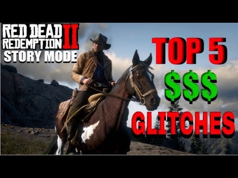 TOP 5 BEST MONEY GLITCHES IN RED DEAD REDEMPTION 2 (Story Mode) thumbnail