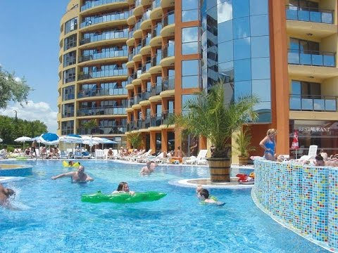 hotel meridian sunny beach bulgaria youtube