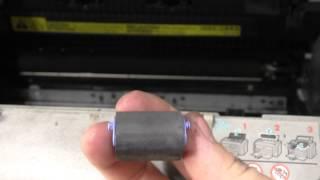 Снятие ролика захвата HP 1010/1018/1020