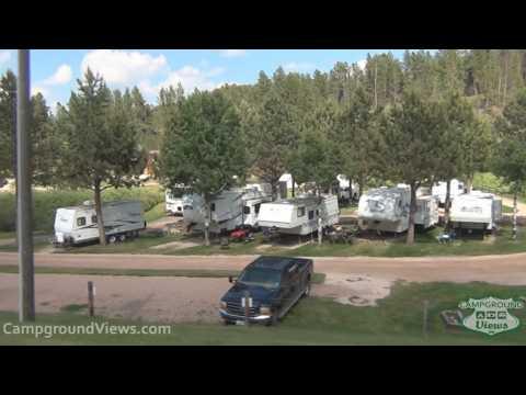CampgroundViews.com - Crooked Creek Resort & RV Park Hill City South Dakota SD