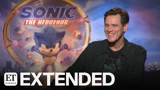 Jim Carrey On 'Sonic The Hedgehog', His First Pet, Beards And More | EXTENDED