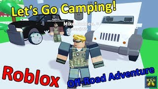 Camping and Off-Roading in a Jeep Wrangler | Roblox Episode 2