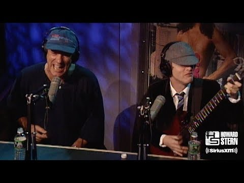 "AC/DC ""You Shook Me All Night Long"" on the Howard Stern Show"