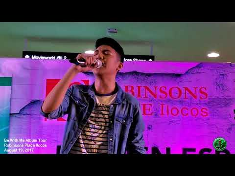 Darren Espanto Be With Me Album Tour at Robinsons Place Ilocos Part 1 (08-19-2017)