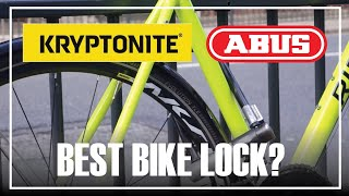 How to lock your bike fast and secure
