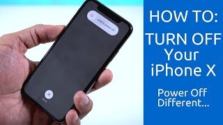 How To Turn Off Your iPhone X: Power Off Different.....