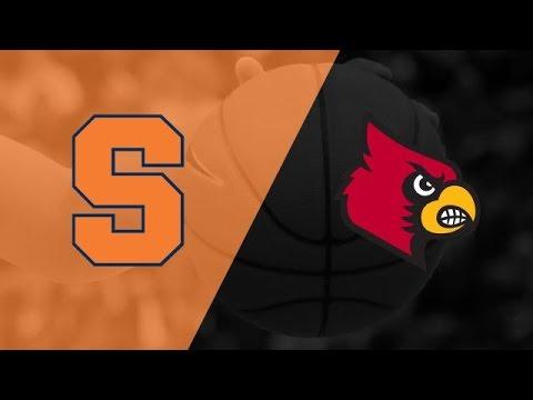 Syracuse vs Louisville NCAA Basketball 2nd Half, February 26 2016
