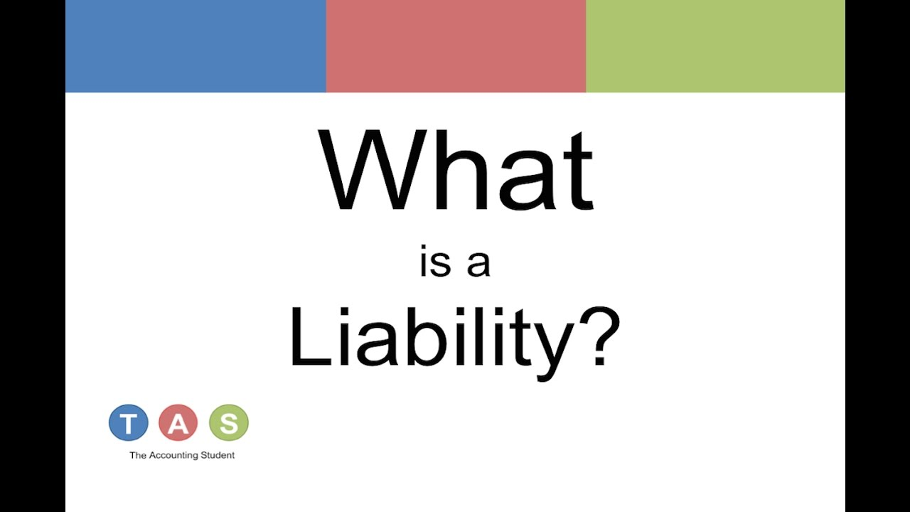 What is a liability 65