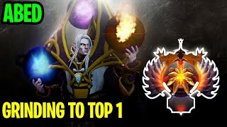 GRINDING TO TOP 1 - ABED INVOKER  - Dota 2