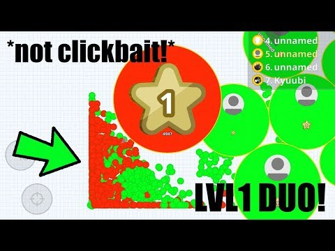 AGAR.IO MOBILE - CRAZY LVL1 CANNONSPLITS! | 79K SOLO SERVER TAKEOVER | BEST TRICKS in AGARIO! thumbnail