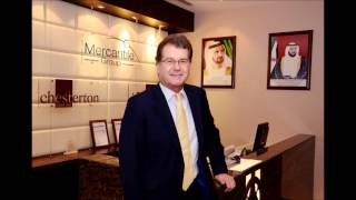 Simon Gray, Managing Director of Chesterton MENA on Dubai Eye Business Breakfast