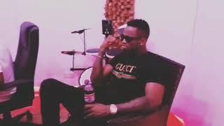 Diamond platnumz $ Rayvanny In studio Recording New Song