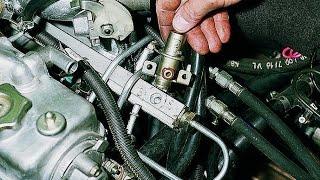 Снимаем регулятор давления топлива. ВАЗ 2111