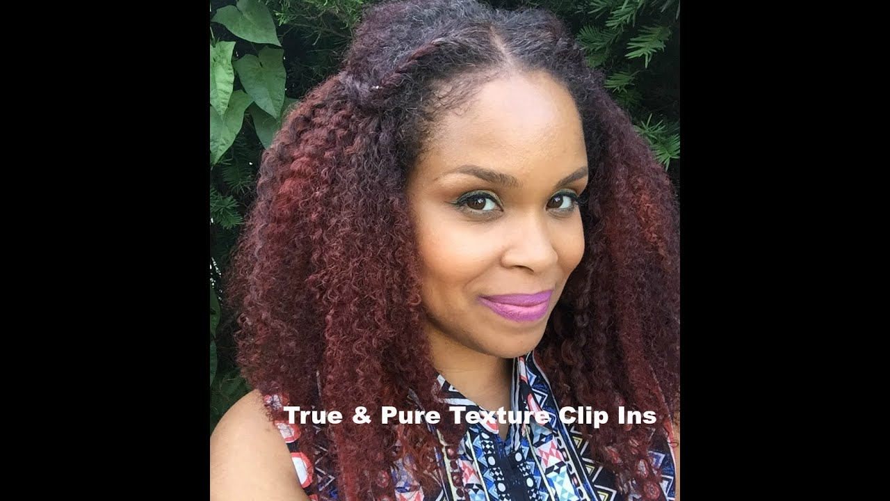 How To Install True Pure Texture Clip Ins Youtube
