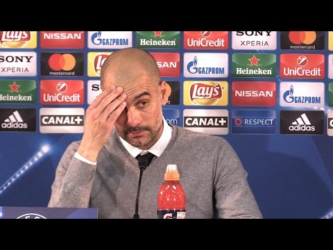 Monaco 3-1 Manchester City (Agg 6-6) - Pep Guardiola Full Post Match Press Conference