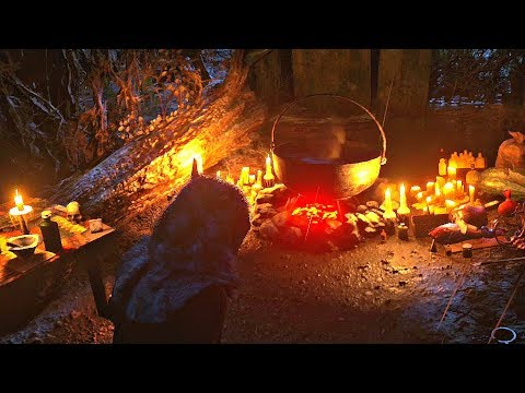 Red Dead Redemption 2 - Mysterious Witch Camp & Drinking Witch's Elixir