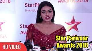 Sonya Pink at Star Parivaar Awards 2018   Nazar Actress Ruby
