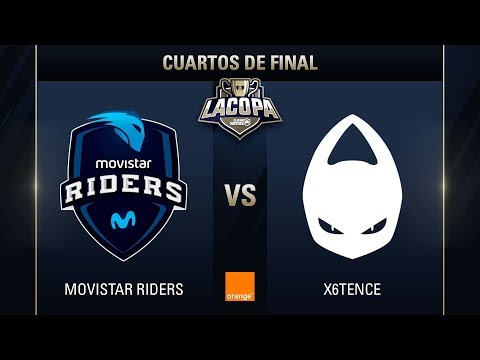 MOVISTAR RIDERS VS X6TENCE - LA COPA DE CLASH ROYALE -  #COPACLASHCUARTOS