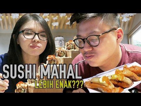 Sushi Rp 50.000 Vs Sushi Rp 120.000 !!!