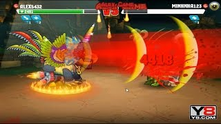 Mutant Fighting Cup 2 PvP Revenge for the last fight Alex5432 VS Minhnha123 (Dog Part 183)