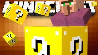 Minecraft: LUCKY BLOCK DEFEND THE VILLAGE! - w/Preston & Kenny