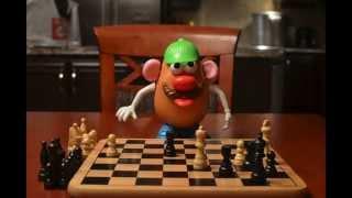 Monsieur et Madame Patate aux échecs - Stop motion