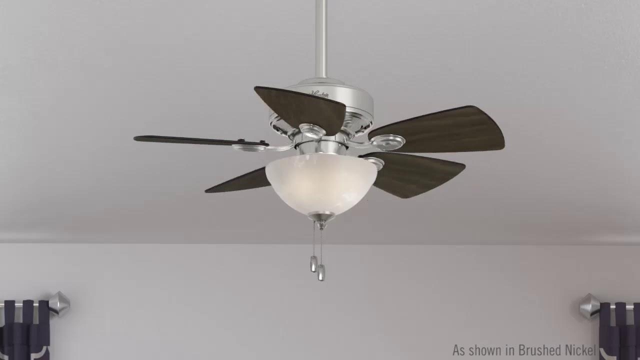 Watson Brushed Nickel Ceiling Fan