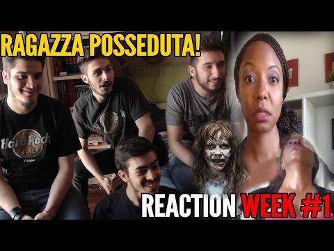 Ragazza Posseduta Durante Tutorial MakeUp - ReactionWeek w/3GamersaCaso