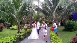 Бекстейдж со свадебной фотосессии
