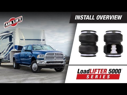 Install Overview: 88295 - LoadLifter 5000 ULTIMATE - 2003-2013 Dodge Ram 2500/3500 (4WD)