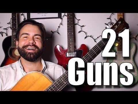 Green Day - 21 Guns - Acoustic Guitar Tutorial