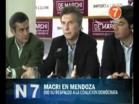 Mauricio Macri admitió que buscará un pacto de gobernabilidad con Cristina Fernández