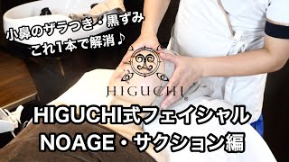 HIGUCHI式フェイシャル NOAGE・サクション編(吸引)