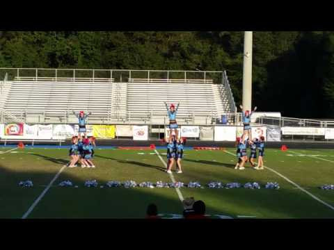 Rising Starr Middle School Panthers cheer