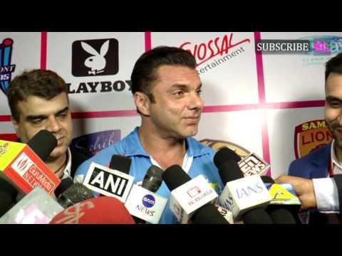 Sohail Khan at launch of Tony Premiere Leagues TPL upcoming cricket season