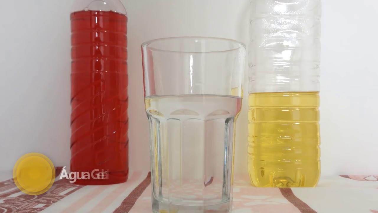 Água, óleo e detergente - Química Geral - YouTube