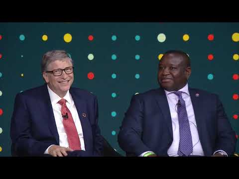 #Goalkeepers18 |President Julius Maada Bio, Bill Gates, and David ...