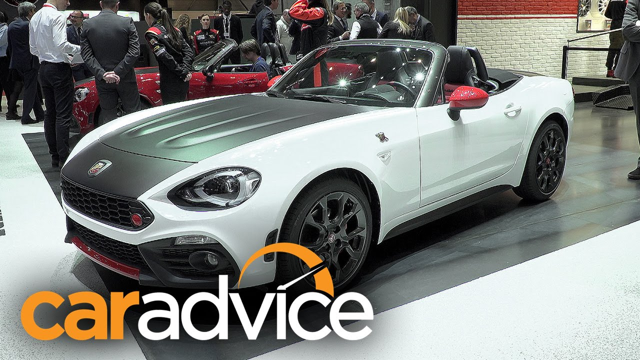 Unique Abarth 124 Spider And 124 Rally  2016 Geneva Motor Show