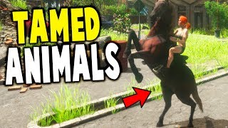 Animallica - ANIMAL HERDS, RHINO TAMING, NEW MUTANTS! - Animallica Gameplay