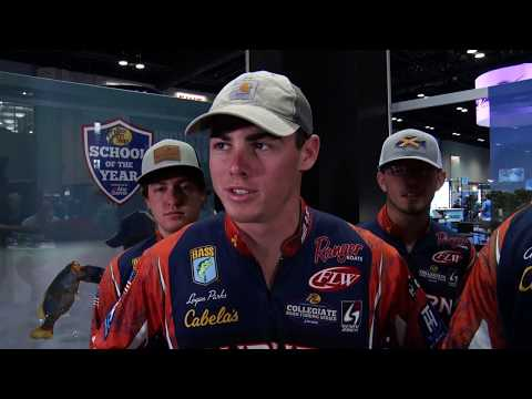Catching Up With The Auburn Bass Fishing Team At ICAST 2019