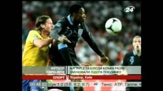 ЕВРО 2012 Обзор матчей 15 июня