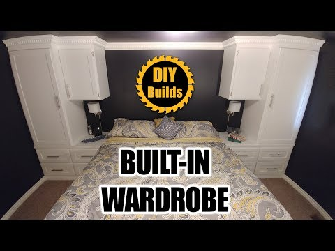 How to Make a Custom Bedroom Built-In Wardrobe