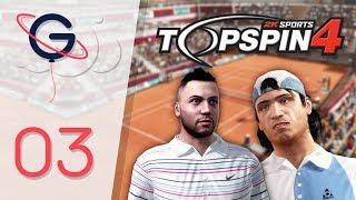 TOP SPIN 4 FR #3 : Premier Tournoi Majeur !