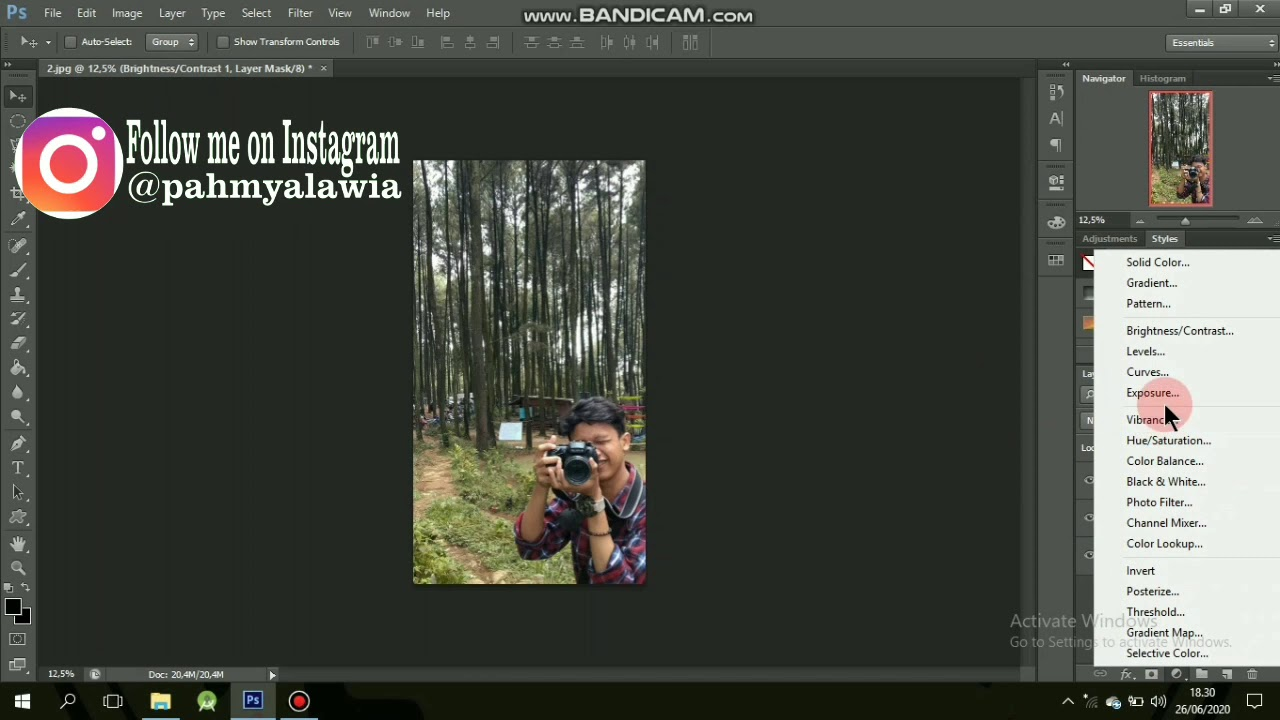 Cara edit foto dramatic di photoshop #STMIKJayakarta@2020 ...