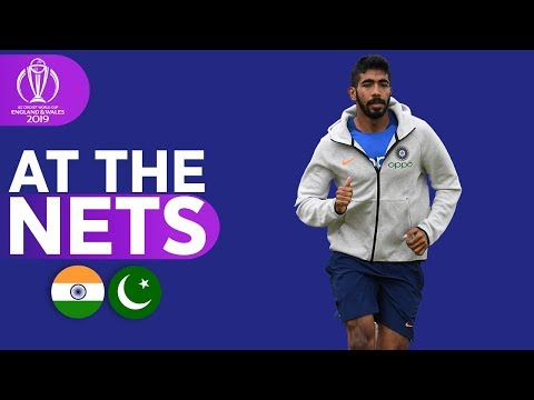 IND v PAK - At The Nets | ICC Cricket World Cup 2019