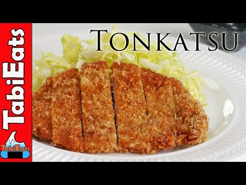 How To Make Tonkatsu (Japanese Pork Cutlet Recipe)