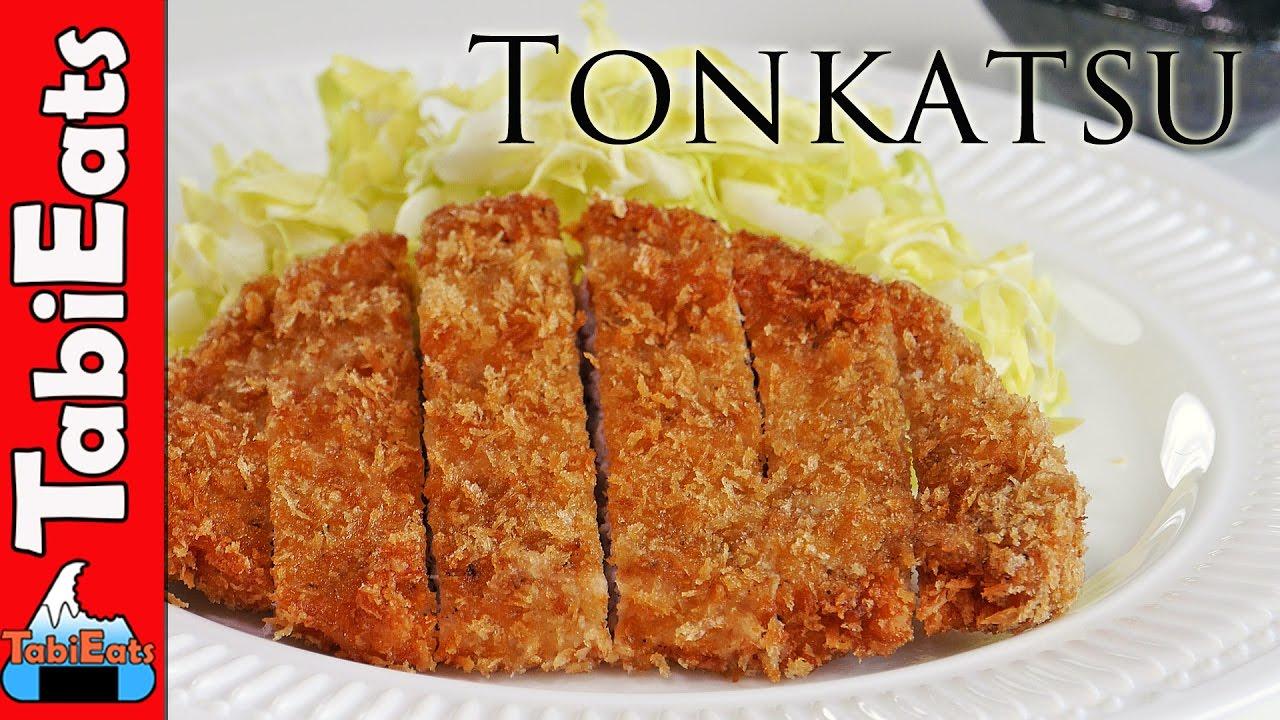 How To Make Tonkatsu (Japanese Pork Cutlet Recipe) - YouTube