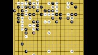 囲碁棋譜再現 2015年韓国女流囲碁リーグ決勝1回戦 黒:朴志恩 vs 白:黒嘉々