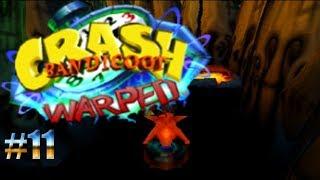 A lomos del pequeño T-Rex/Crash Bandicoot: Warped #11